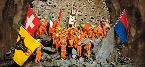 Longest tunnel opens