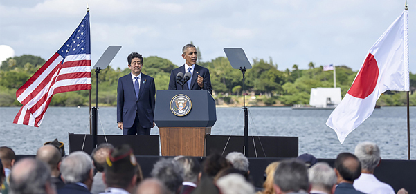 Abe's Pearl Harbor visit